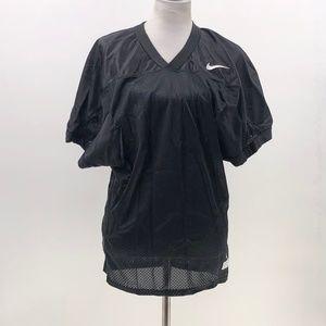 Nike Team Black Mesh Practice Jersey Football L